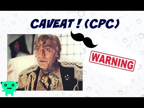 Caveat under Code of Civil Procedure (CPC)
