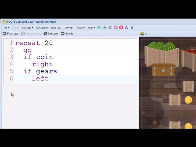 Karel Coding - Conditions