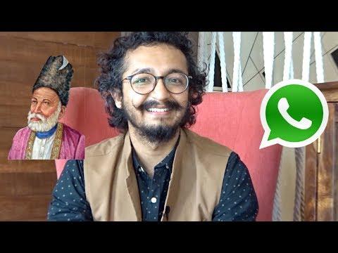 MIRZA GHALIB & WHATSAPP SHAYARI - RJ Vashishth