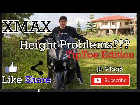 Yamaha Xmax TipToe Edition Height Problems?