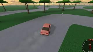 ROBLOX - RWD BMW E34 Drift Test (unedited)