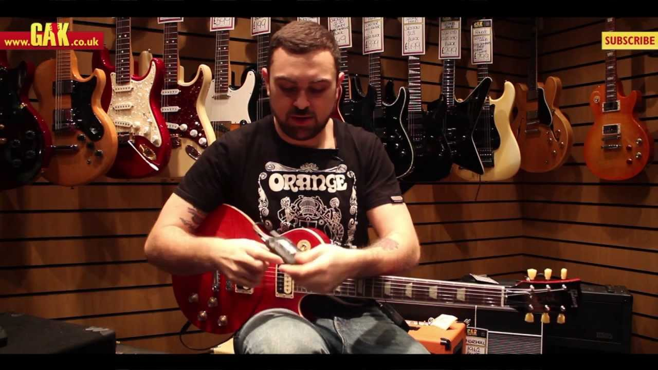 Shure - GLXD16UK Digital Guitar Wireless System Demo at ...