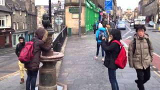 Ian's Visit To Greyfriars Bobby, Edinburgh (hd)