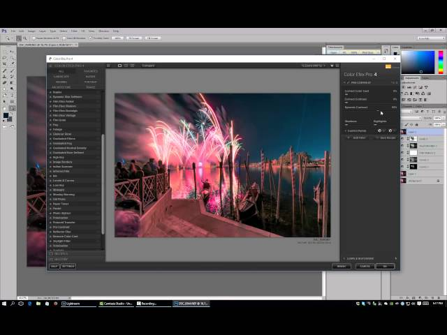How To Edit Fireworks in Lightroom & Photoshop - Walt Disney World Photo Editing
