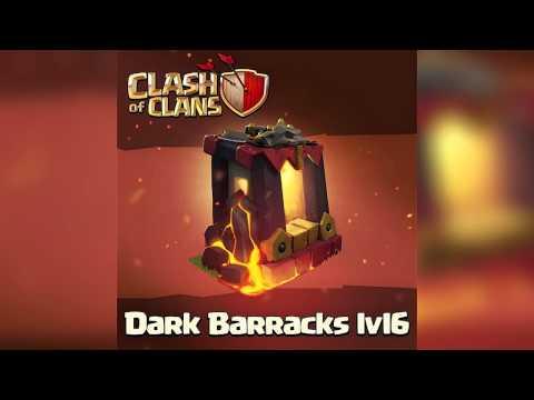 Clash of clans - Dark Barracks Lvl 6