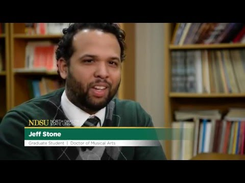 Jeff Stone, Doctor of Musical Arts student, NDSU Challey School of Music