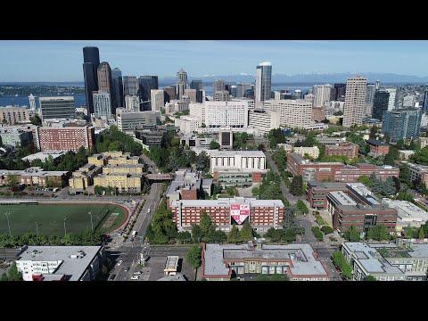 Seattle University Aerial Campus Tour