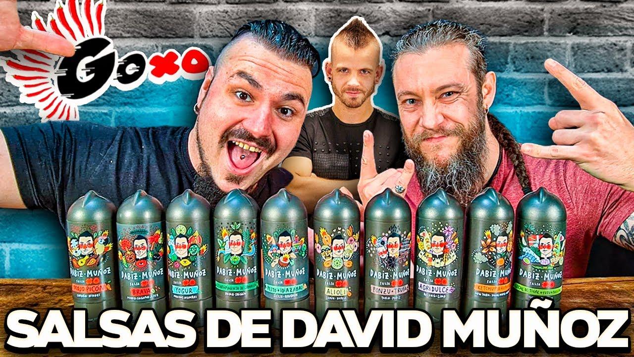 Probando TODAS LAS SALSA de DABIZ MUÑOZ de DIVERXO con el VIKINGO!