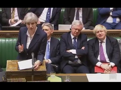 2017 03 29 UK PM May Article 50 Statement  Brexit PMQ FULL
