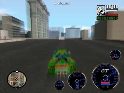 убойные трюки на машине в игре GTA San Andreas SUPER CARS