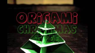 Origami Christmas Tree Animation (stop Motion)