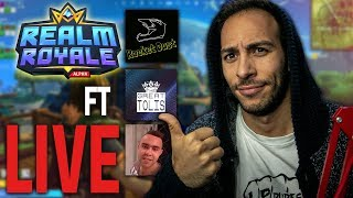 ΠΑΜΕ ΓΙΑ ΔΥΝΑΤΑ GAMES ΣΤΟ REALM ROYALE ΜΕ ΤΡΕΛΗ SQUAD ft RocketDust,The Great Tolis, MisterBons