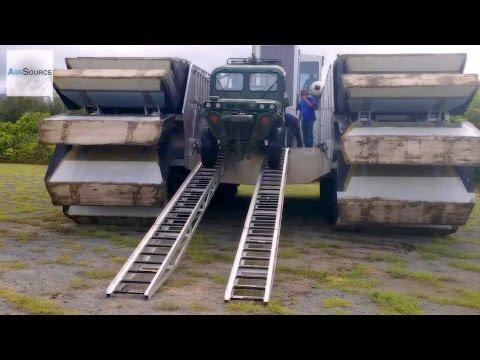Ultra Heavy-Lift Amphibious Connector (UHAC) Vehicle Unload