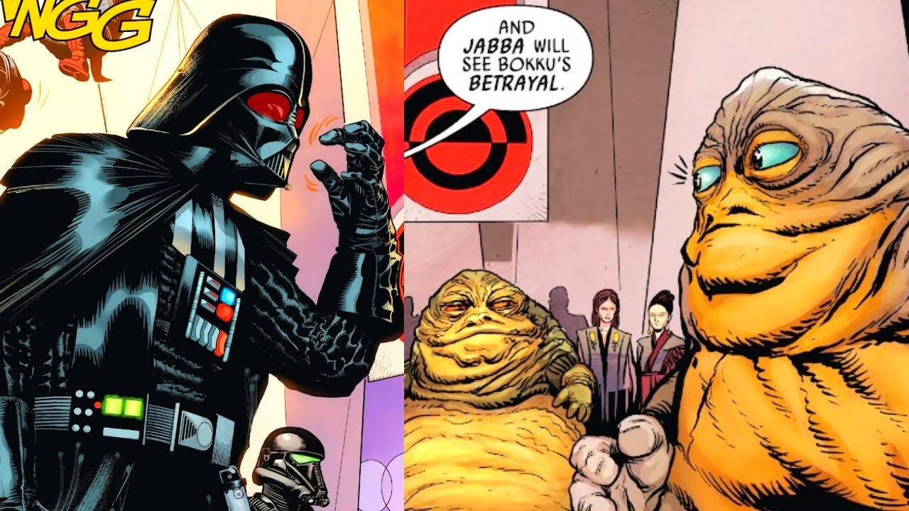 When Darth Vader Crashed Jabba's Auction(CANON) - Star Wars Comics Explained