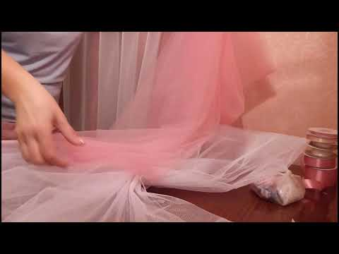 Как сшить на свадебную машину бант