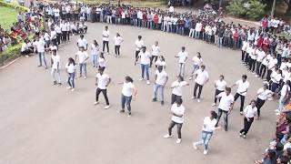 Flashmob 2018 by hidden stars of uasd
