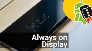 Always On Display disponible en Google Play