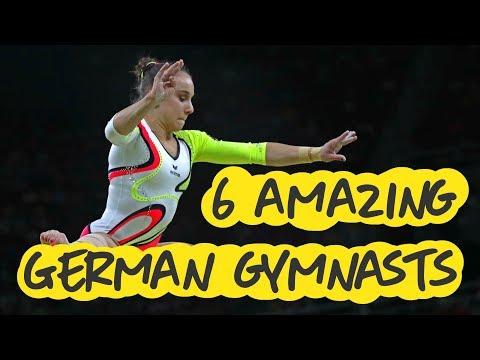 Gymnastics - 6 Amazing German Gymnasts