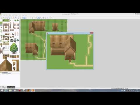 RPG Maker Xp: Forest Town Exterior