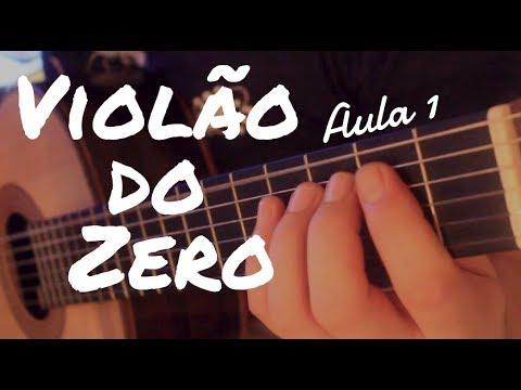 """Aula de Música e Violão """"Violão do Zero"""" com Fabio Lima (Aula 1 Iniciante)"""