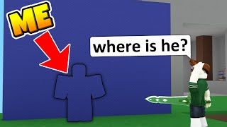 CAMOUFLAGE TROLLING in Roblox BedWars...