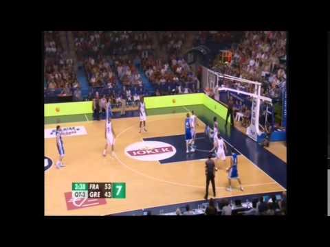 ΕΘΝΙΚΗ ΑΝΔΡΩΝ | Video : Γαλλία-Ελλάδα 81-73, (τουρνουά Πο, 09.08.2014)