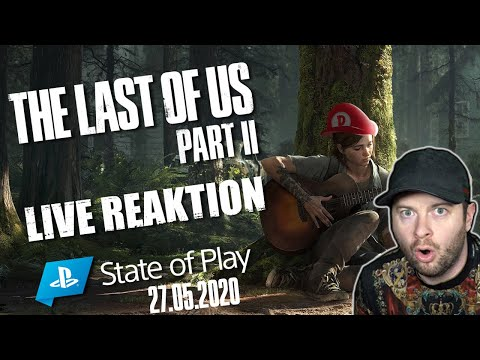 🔴 THE LAST OF US Part II STATE OF PLAY vom 27.05.2020 🎇 Domtendos Live Reaktion