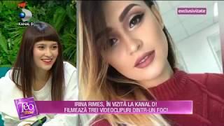 Teo Show (03.04.2018) - Irina Rimes, izvor nesecat de inspiratie! Partea 2