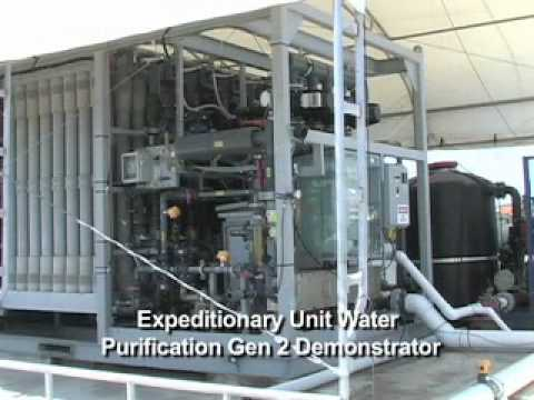 Shipboard water desalination