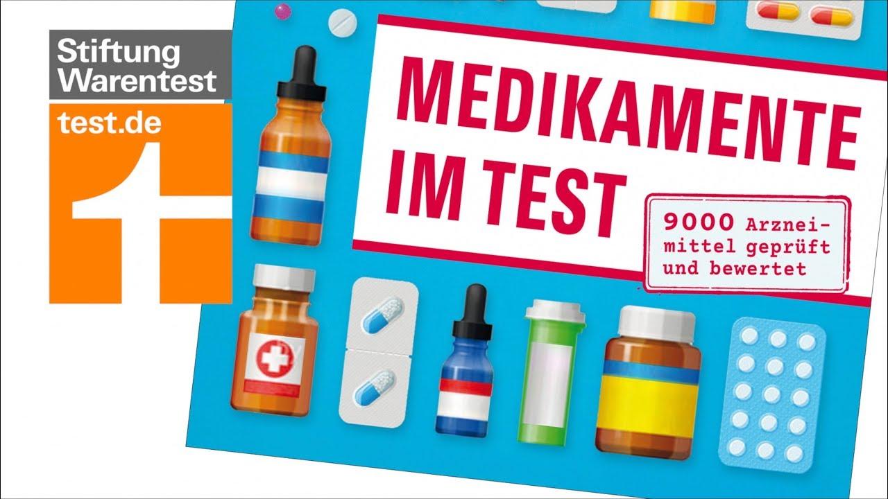 Medikamente Im Test Neues Handbuch Von Der Stiftung Warentest