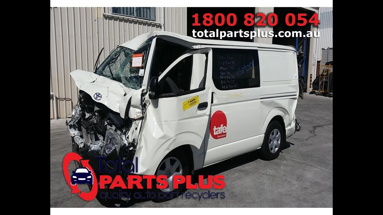 Toyota Wreckers Brisbane-2016 Toyota Hiace-Total Parts Plus