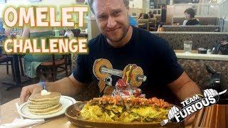 Huge Omelet Challenge!