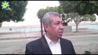 بالفيديو ...تشارك قوات الشرطة بالسويس الأفطار علي شط قناة السويس