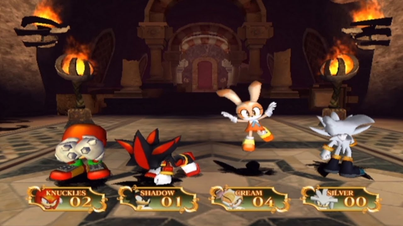 Sonic And The Secret Rings Minigames