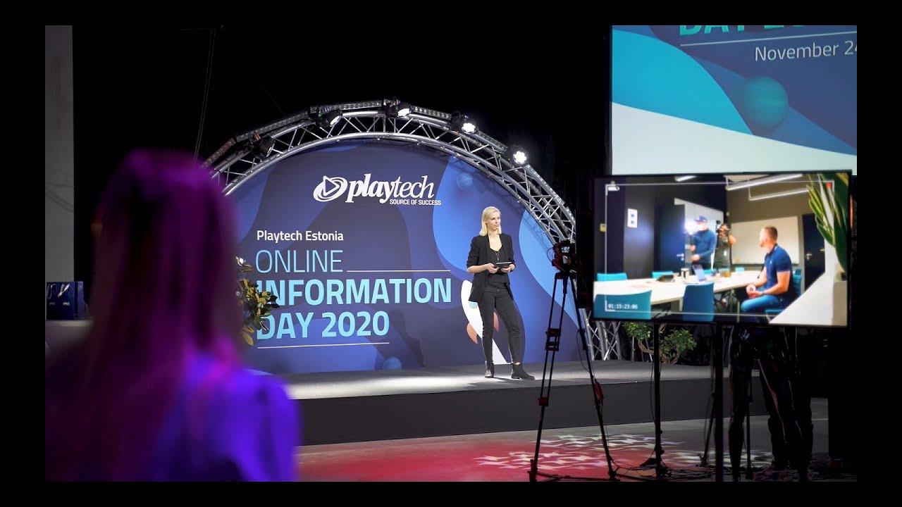 Playtech Estonia Online Information Day 2020