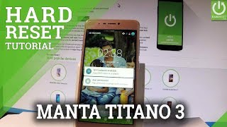 How to Hard Reset MANTA Titano 3 - Clear eMMC / Remove Password