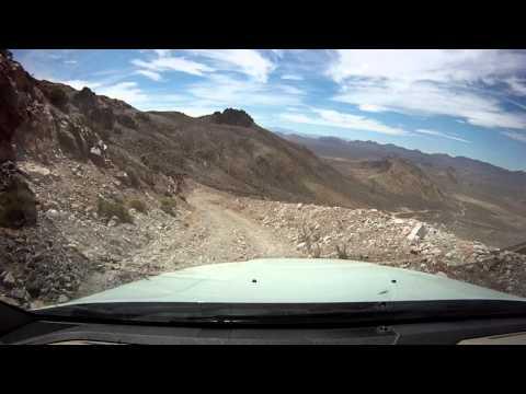 Sawtooth Peak, Nye County near Beatty, Nevada