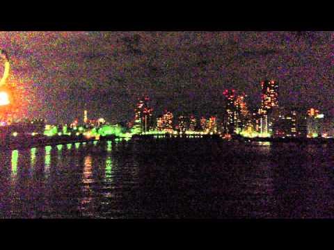 東京湾 竹芝桟橋 2012 11 02 22 02 27