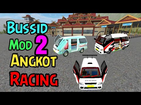 Bussis Mod 2 Angkot Racing Full Review Youtube