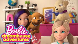 Meet the Roberts Family Pets | Barbie Dreamhouse Adventures | Barbie