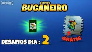 BUCANEIRO BUTIM CHALLENGES-CHALLENGE: 2-GRATUIT REWARD-FORTNITE BATTLE ROYALE
