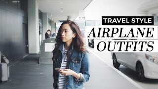 Airplane Outfits – Travel Style, airplane outfits, travel style