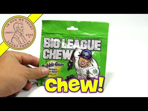 Big League Chew, Swingin' Sour Apple Bubble Gum