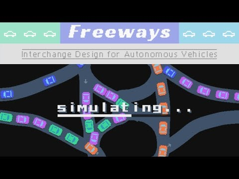 Freeways: Interchange Design For Autonomous Vechicles (01)