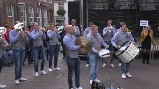 Feestbende Cromvoirt Sneeker Dweildag 2019 zaterdag 5 oktober 2019 Sneek Fryslan NL