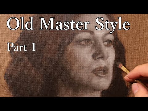 Portrait Painting Tutorial | Keeping it Classical (part 1) - Real Time