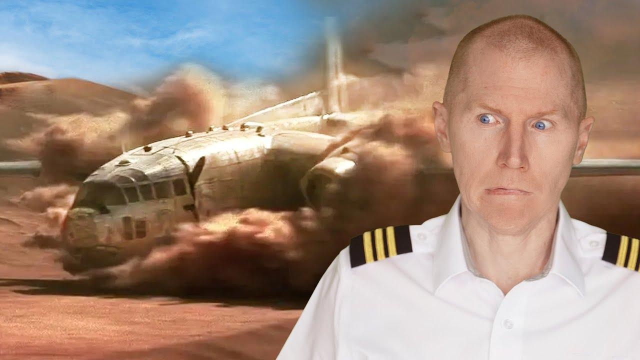 Passenger Rebuild Plane - Flight of the Phoenix - Hollywood vs Reality