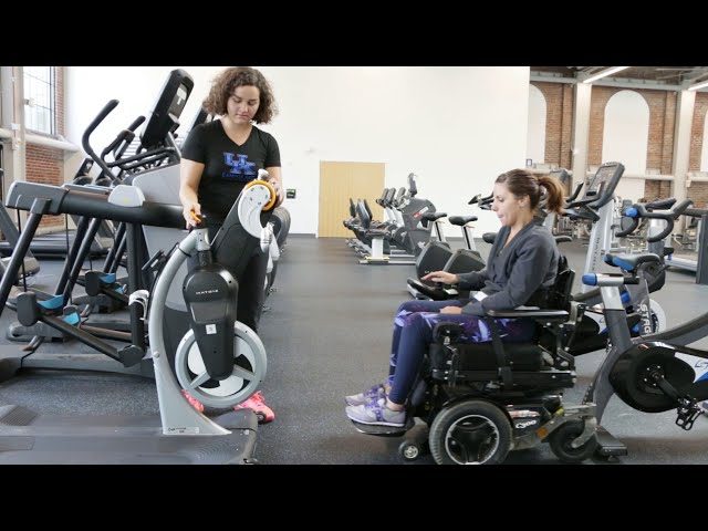 Adaptive Gym Equipment- Crank Cycle