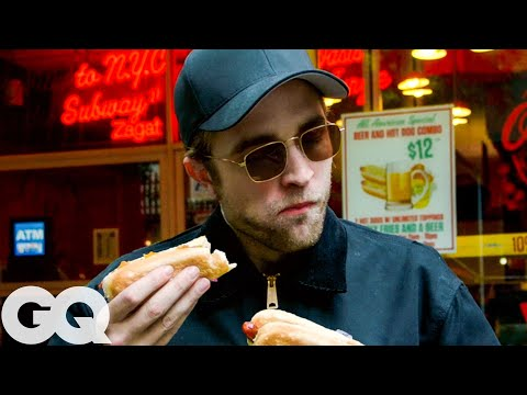 Robert Pattinson Desperately Needs a New York City Hot Dog   GQ