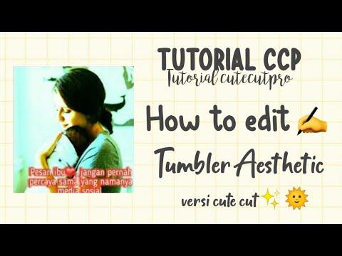 Tutorial Ccp Tumblr Aesthetic   Dipmaerz🤡